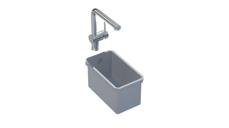 Sink 216 A  Square 160x300 ..