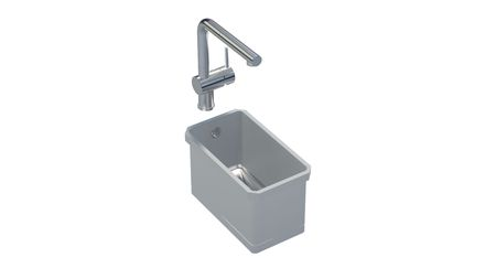 Sink 216 S  Square 160x300 ..